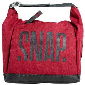 Snap Big Chalk Bag Fleece burgundy